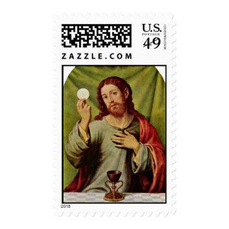 Cristo en la eucaristía de Juanes Juan De (el Envio
