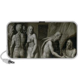 Cristo en limbo iPod altavoces