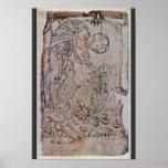 Cristo en limbo por los Algodón-Salterios del DES  Posters