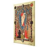 Cristo en majestad con los santos impresiones de lienzo