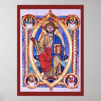 Cristo en majestad posters