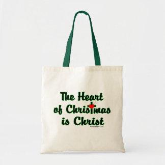 Cristo en navidad bolsa tela barata