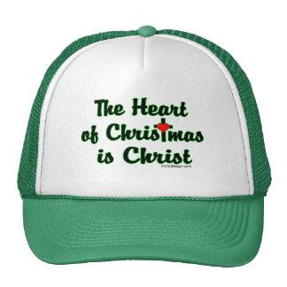 Cristo en navidad gorra