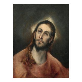 Cristo en rezo de El Greco Impresiones Fotograficas