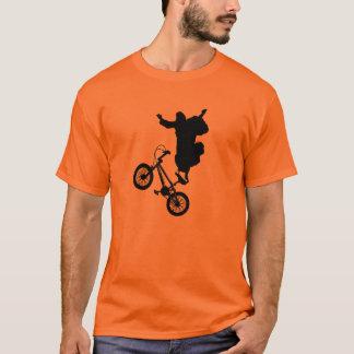 ¡Cristo en una bici! Playera
