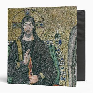 """Cristo enthroned con los ángeles carpeta 1 1/2"""""""