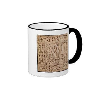 Cristo Enthroned, de un Evangelistary Taza De Café