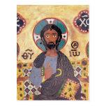 Cristo Enthroned Postales