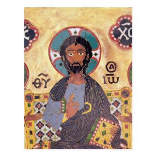 Cristo Enthroned Tarjetas Postales
