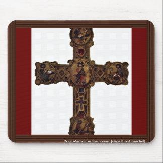 Cristo Enthroned y los cuatro evangelistas (Medall Tapetes De Ratón