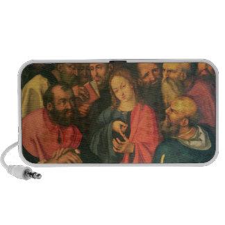 Cristo, envejecido doce, entre los escribanos notebook altavoz