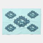 Cristo es el centro - azul claro toallas de cocina