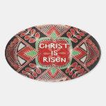 """""""Cristo es"""" pegatina subido del huevo de PysankyPa"""