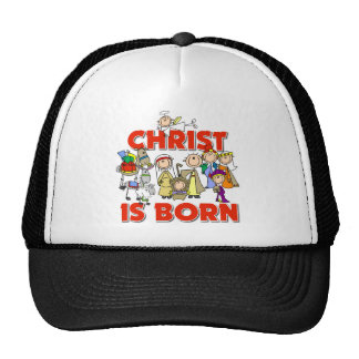Cristo es regalo nacido del navidad gorros