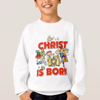 Cristo es regalo nacido del navidad polera