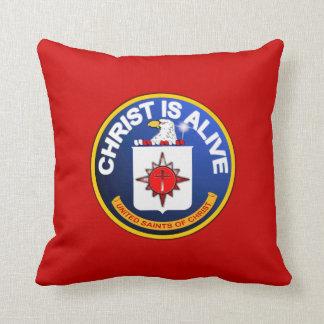 Cristo está vivo - icono de la Cia idéntico Cojín