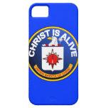 Cristo está vivo - icono de la Cia idéntico iPhone 5 Funda