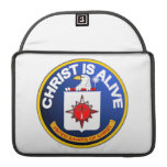 Cristo está vivo - icono de la Cia idéntico Fundas Macbook Pro