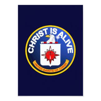 """Cristo está vivo - icono de la Cia idéntico Invitación 5"""" X 7"""""""