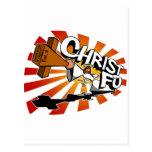Cristo Fu - ame a Thy enemigo inconsciente Postal