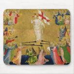 Cristo glorificó en la corte del cielo, 1423-24 alfombrilla de ratón