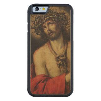 Cristo, hombre de dolores, 1641 (aceite en lona) funda de iPhone 6 bumper arce