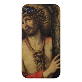 Cristo, hombre de dolores, 1641 (aceite en lona) iPhone 4 carcasa