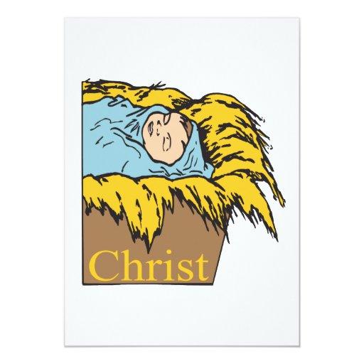"""Cristo Invitación 5"""" X 7"""""""
