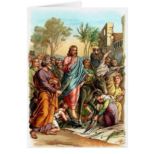 Cristo Jerusalén de saludo Tarjeta De Felicitación