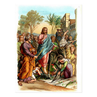 Cristo Jerusalén de saludo Tarjeta Postal