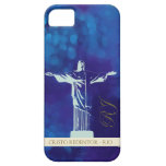 Cristo la estatua del redentor - RJ iPhone 5 Case-Mate Fundas