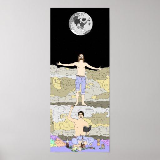 Cristo moderno póster