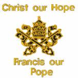 Cristo nuestra esperanza, Francisco nuestro papa Polo