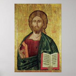 Cristo Pantocrator 1607 Posters