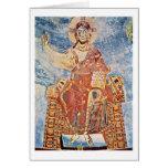 Cristo Pantocrator por los amos Italo-Bizantinos Tarjeton