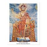 Cristo Pantocrator por los amos Italo-Bizantinos Postales