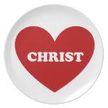 Cristo Plato De Cena