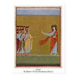 Cristo por el amo de la escuela de Reichenau Postal