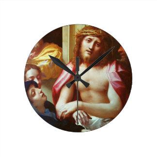 Cristo presentó a la gente (el homo de Ecce) Reloj Redondo Mediano