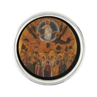 Cristo que asciende en cielo pin