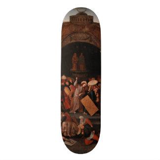 Cristo que conduce a comerciantes del templo por monopatines personalizados