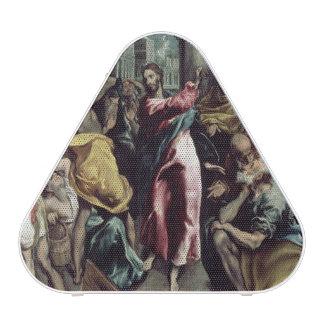Cristo que conduce a los comerciantes del templo altavoz bluetooth