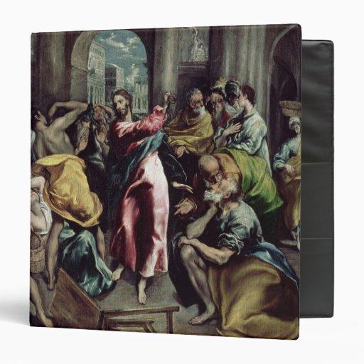 Cristo que conduce a los comerciantes del templo