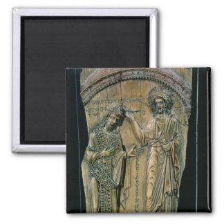 Cristo que corona el emperador Constantina VII Imán Cuadrado