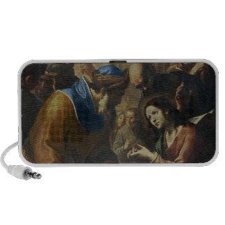 Cristo que disputa con los doctores, c.1660 altavoz de viaje