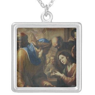 Cristo que disputa con los doctores, c.1660 colgante cuadrado