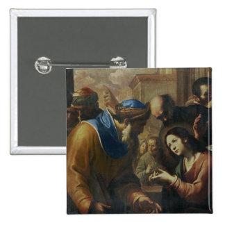 Cristo que disputa con los doctores, c.1660 pin cuadrado