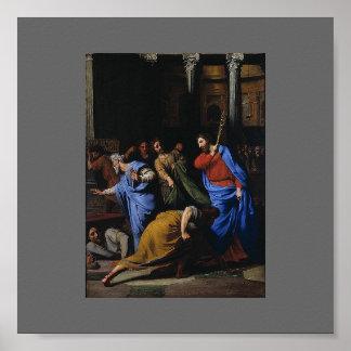 Cristo que expulsa los Dinero-Cambiadores Póster