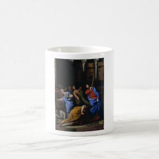 Cristo que expulsa los Dinero-Cambiadores Taza De Café