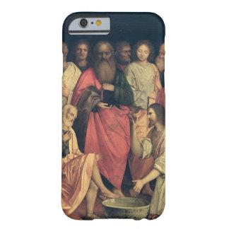 Cristo que lava los pies de los discípulos funda de iPhone 6 barely there
